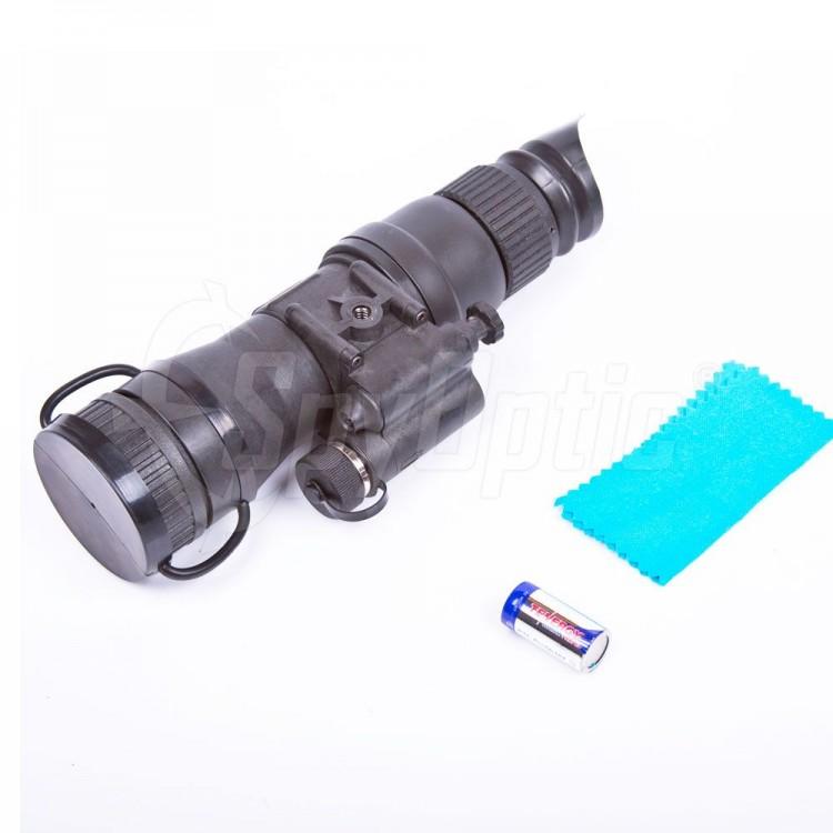 W zestawie znajduje się oświetlacz podczerwieni Armasight IR850W