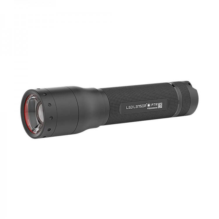 Ładowalna latarka LED P7R z możliwością regulacji natężenia światła