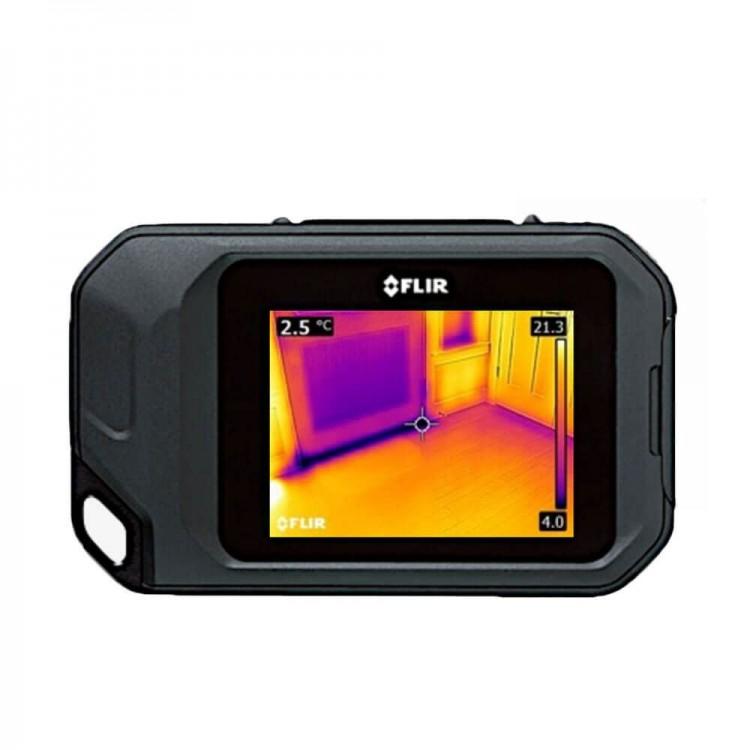 Kompaktowa kamera termowizyjna FLIR C2 pomocna w budownictwie