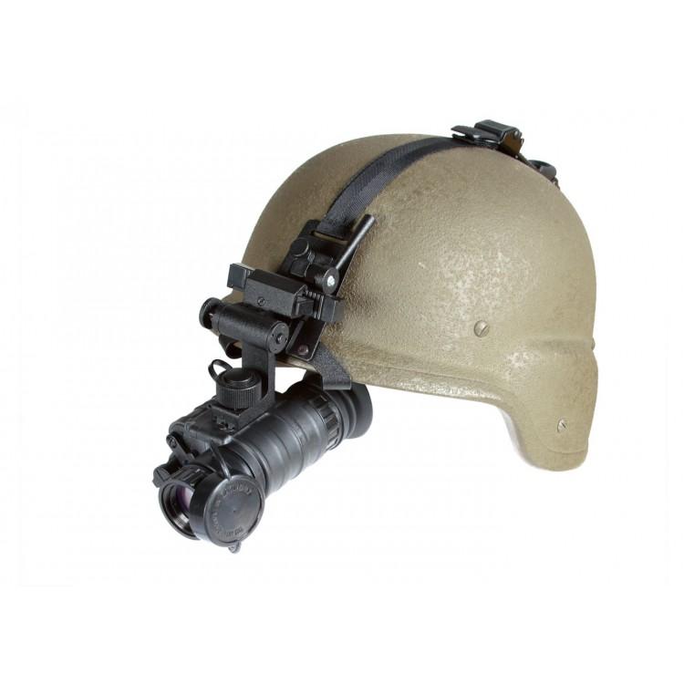 Komfortowe mocowanie na hełm/głowę