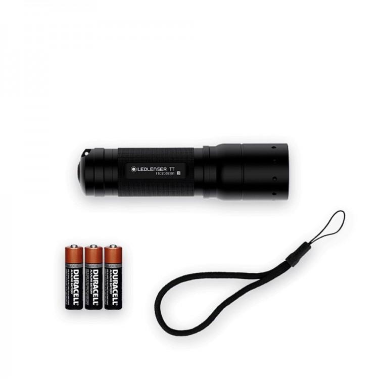 Kompaktowa latarka LED Ledlenser TT przydatna w każdej sytuacji.