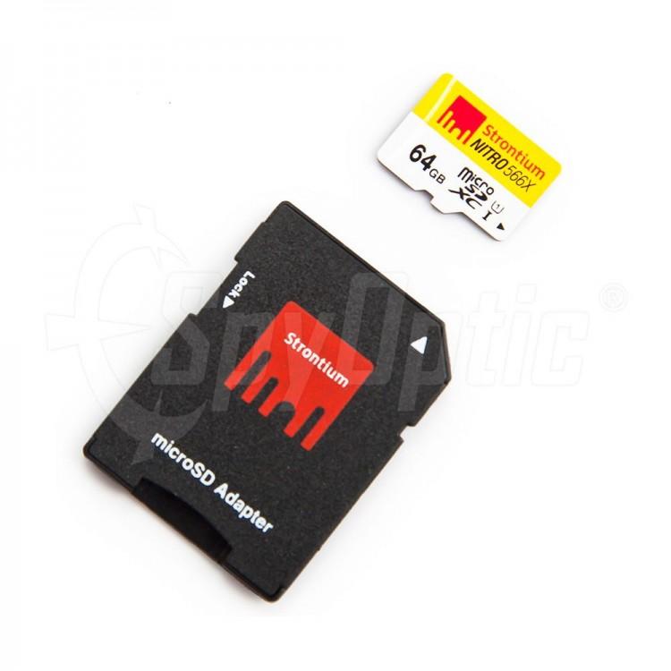 W zestawie adapter SD