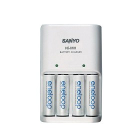 Ładowarka sieciowa  Sanyo do akumulatorów AA Eneloop