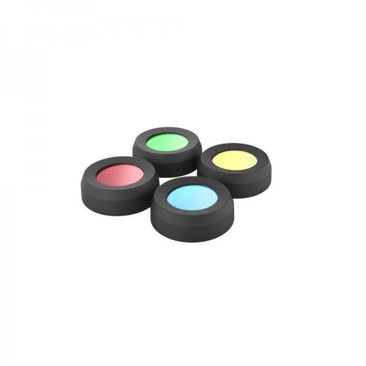 Kolorowe Filtry dedykowane do latarek Ledlenser (36 mm)
