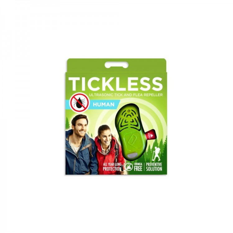 Ultradźwiękowy Tickless Human, odstraszacz kleszczy dla ludzi