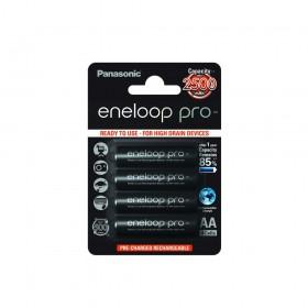 Akumulator firmy Panasonic AA Eneloop Pro, 2450 mAh, 1.2 V do fotopułapek