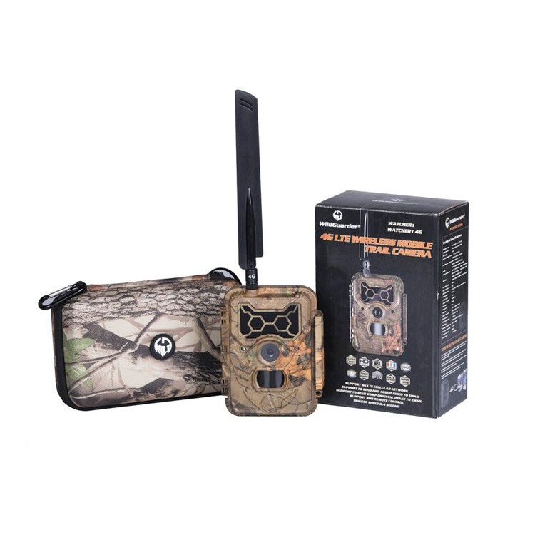 Fotopułapka Wildguarder Watcher1-4G z modulem LTE i przesyłem filmów