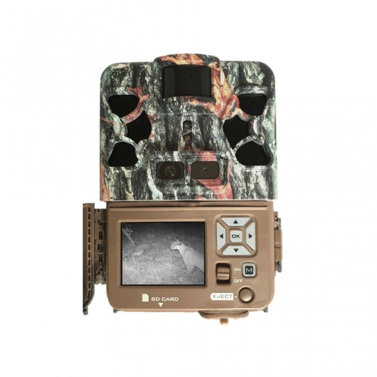 Fotopułapka Browning Patriot z dwoma obiektywami i dalekim zasięgiem nocnym