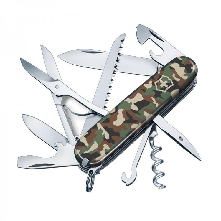 Scyzoryk Victorinox Huntsman z piłą do drewna i nożyczkami