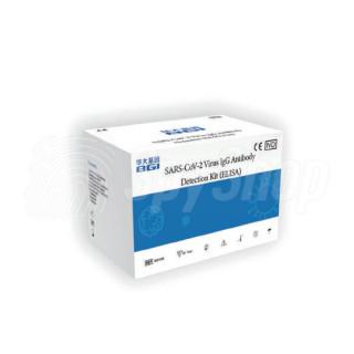 Immunologiczny test ELISA na koronawirusa SARS-CoV-2
