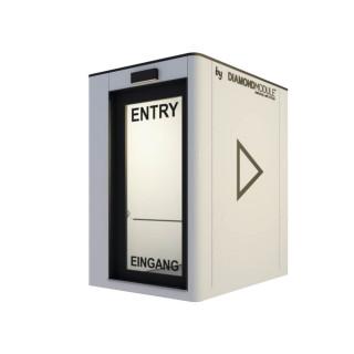 Profesjonalna stacja sanitarna – dezynfekcja lampą UV (COVID-19)