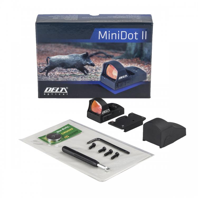 Celownik kolimatorowy MiniDot II - ulepszona wersja