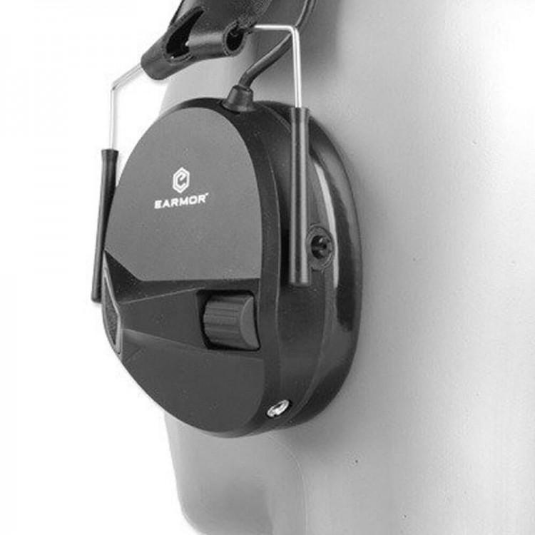 Ochronniki słuchu Earmor M30 redukcja hałasu do 82 dB