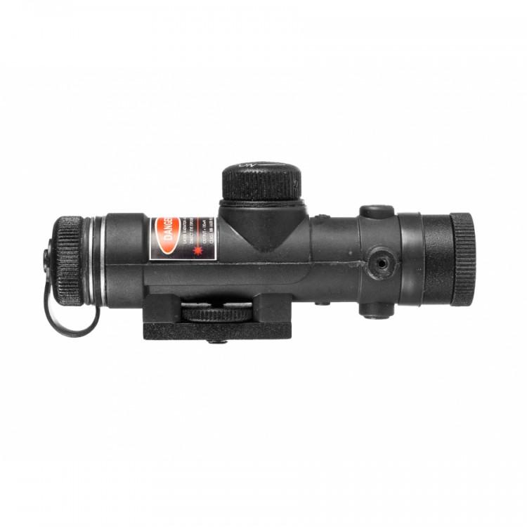 Oświetlacz podczerwieni Dipol 100 mW 850 nm z montażem dovetail