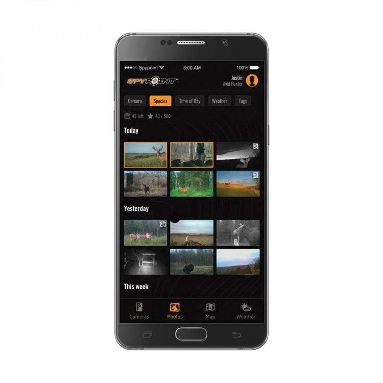 Dostęp do zdjęć na dedykowanej aplikacji mobilnej