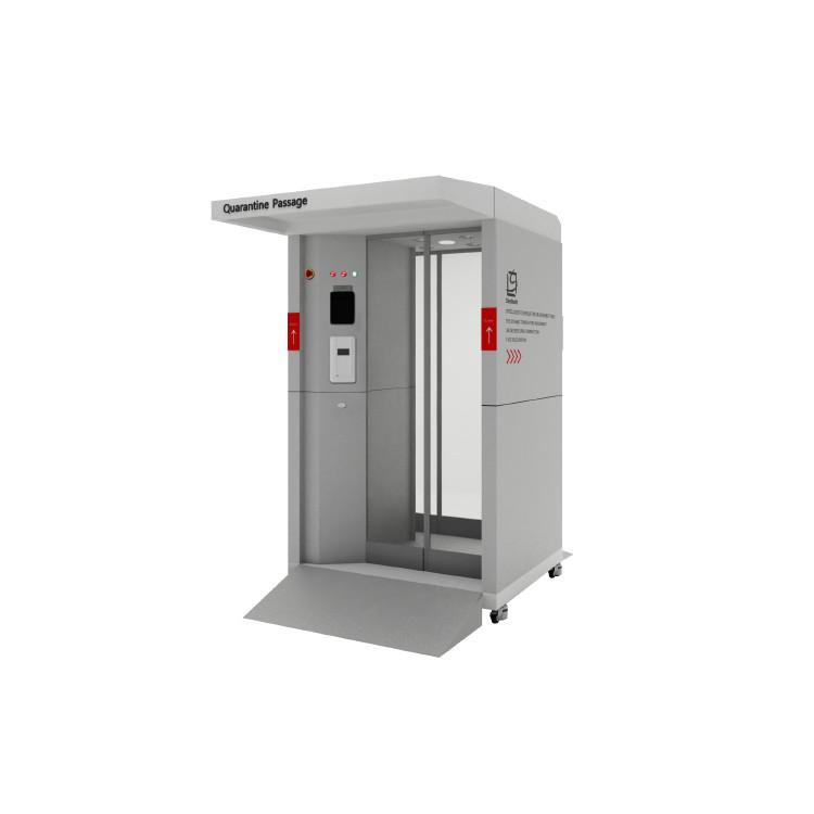 Kabina dezynfekująca KD-19 Bryza – dezynfekcja w zakresie 360°