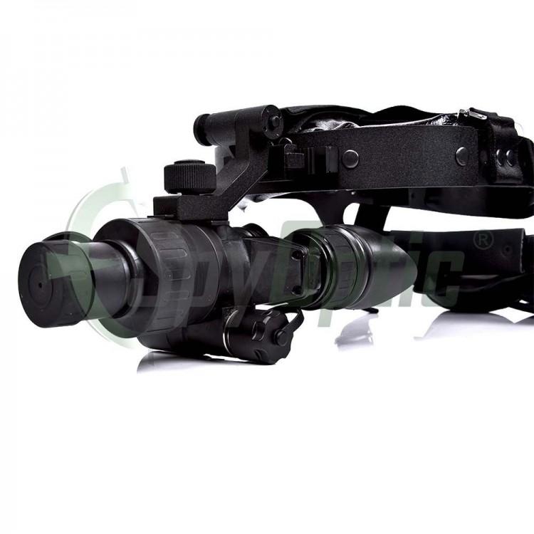 Noktowizor Armasight Nyx-7 Gen 2+ umożliwia pracę w całkowitej ciemności