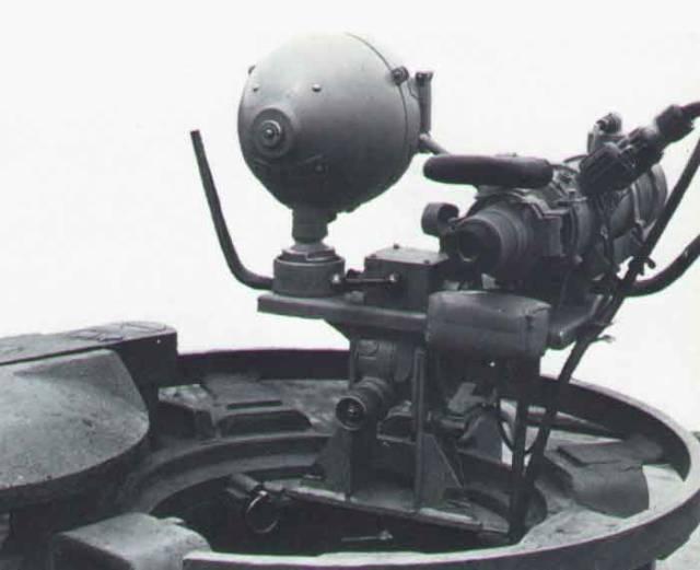 System noktowizyjny montowany na niemieckich czołgach Pantera.