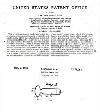 Patent na tubę elektronową