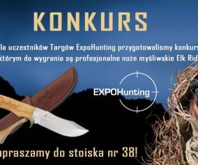 Konkurs dla myśliwych EXPOHunting 2015