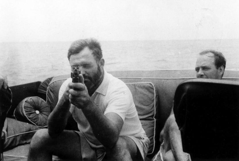 Pisarz i myśliwy Ernest Hemingway