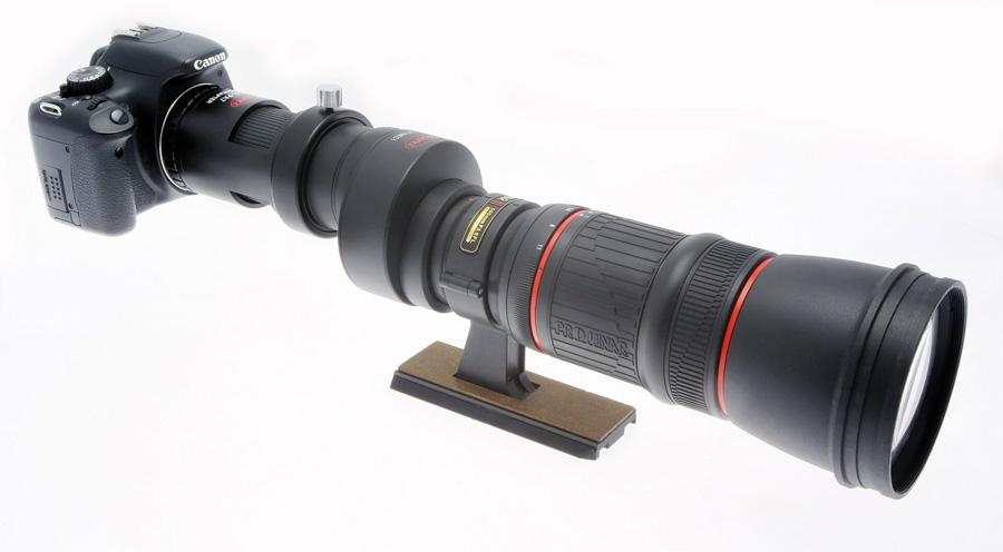 Adapter umożliwiający podpięcie lunet marki KOWA do aparatu fotograficznego