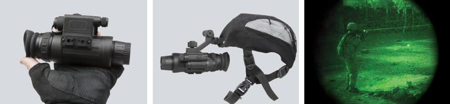 Monokular noktowizyjny dla myśliwych AGM Wolf-14