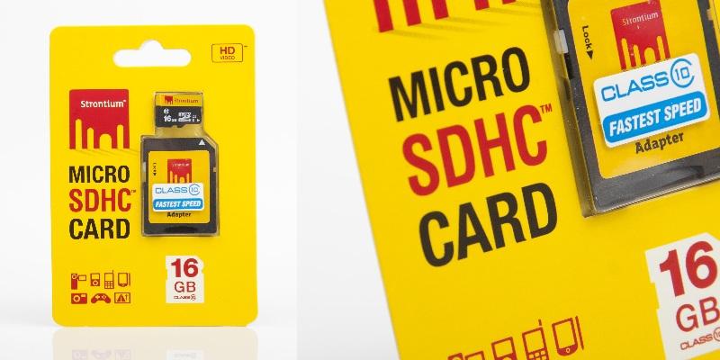 Micro SDHC 16 GB