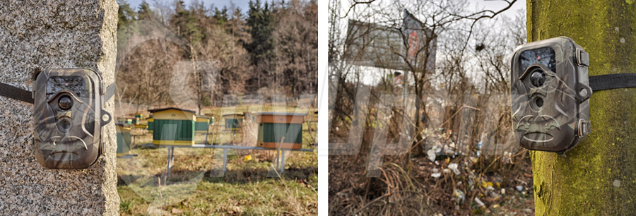 Kamera leśna S660G do lasu i na działkę