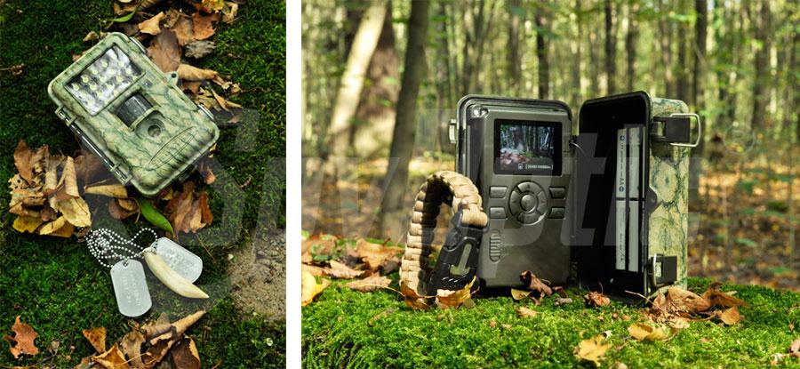Fotopułapka do nagrywania filmów i robienia zdjęć