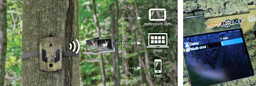 Kamera leśna SpyPoint Mini Live z modułem GSM/GPRS
