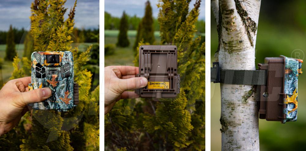 Kamuflowana kamera zewnętrzna Browning Dark Ops Apex