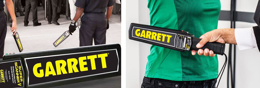 Oryginalny detektor metali Garrett Super Scanner