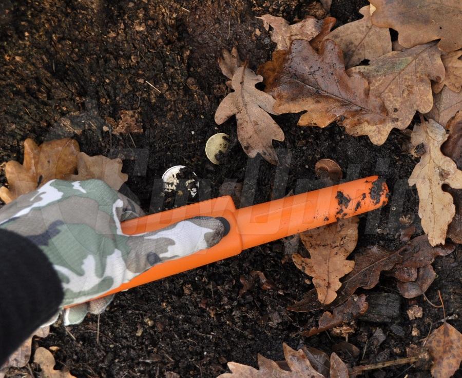 Wykrywacze metali Garrett Pro Pointer AT z saperkę, latarką i torbą