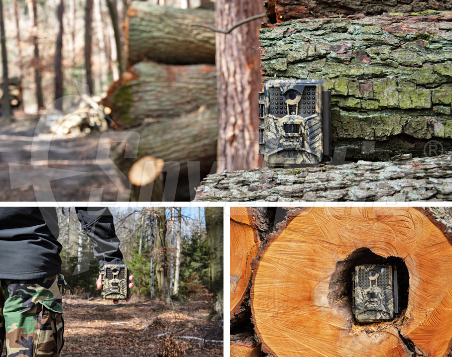 Kamera leśna do ochrony posesji Covert Ice Cam