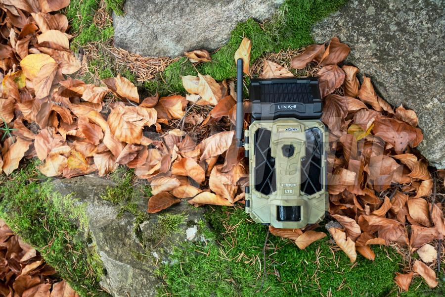 Fotopułapka SpyPoint LINK-S z mobilną aplikacją i geotagami GPS