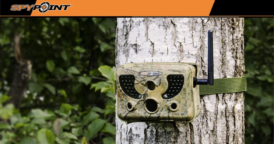 Kamera zewnętrzna SpyPoint TINY-WBF
