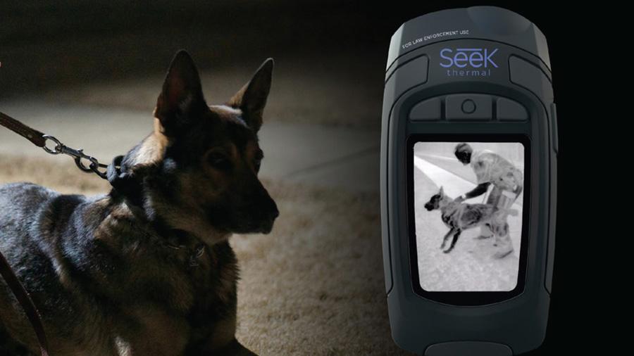 Kamera termowizyjna Seek Thermal Reveal Shield Pro dla policji i służb mundurowych