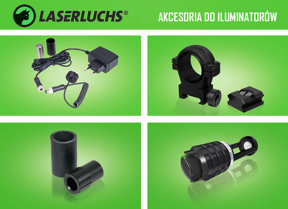 Akcesoria Laserluchs - niemiecka precyzja!