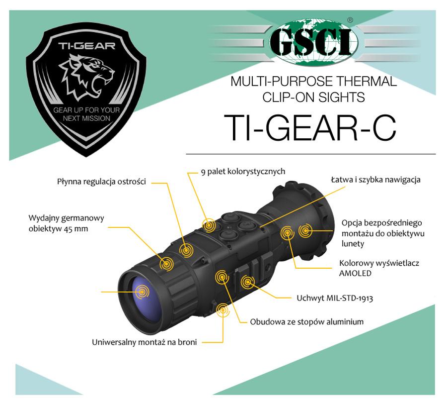 Nakładka termowizyjna GSCI TI-GEAR-C