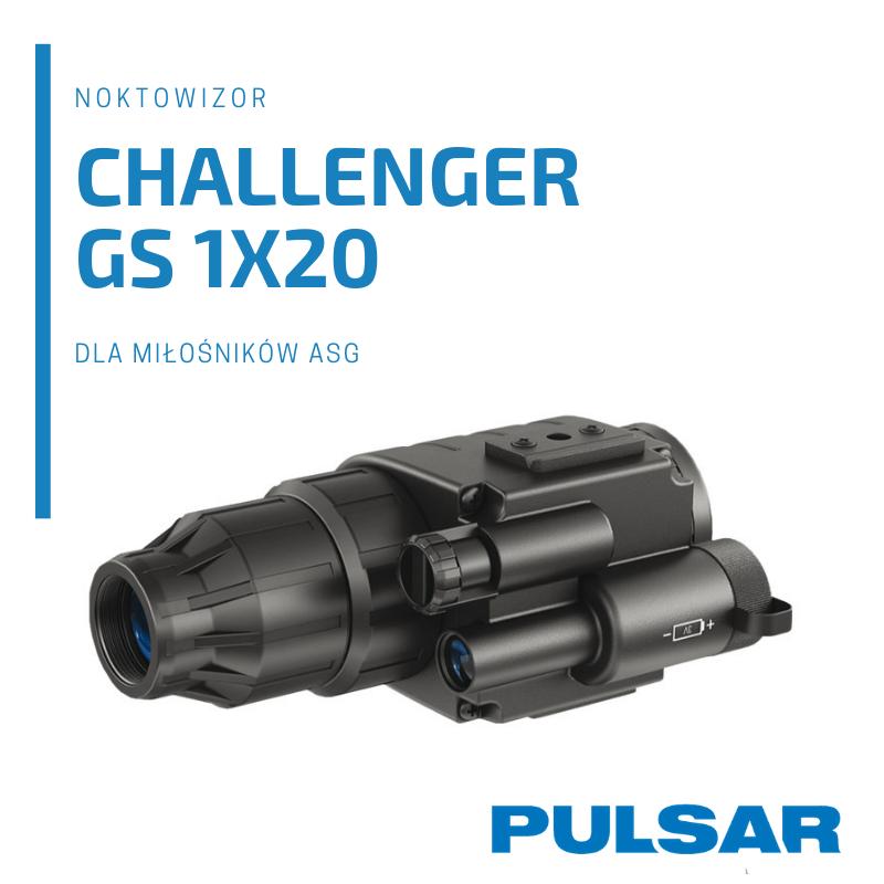 Pulsar Challenger GS 1x20 dla pasjonatów ASG
