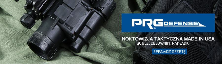 Noktowizory taktyczne marki PRG Defense