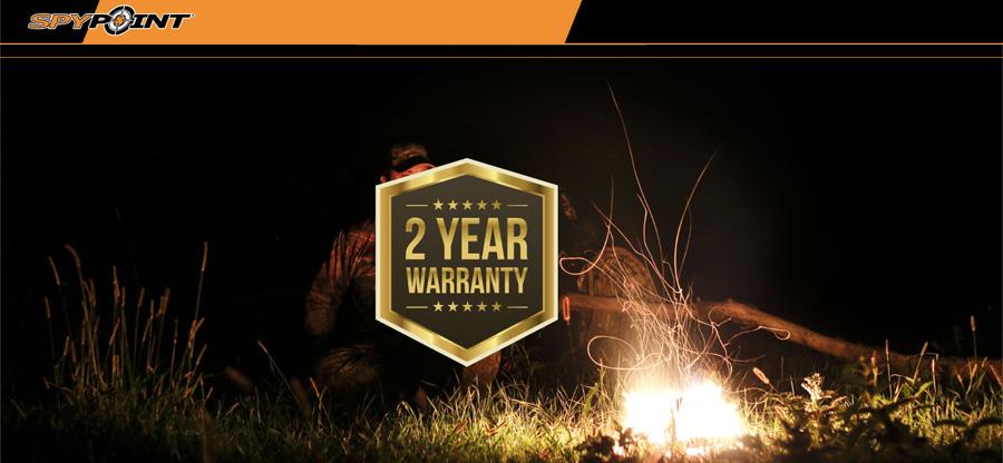 Dwa lata gwarancji - fotopułapki SpyPoint