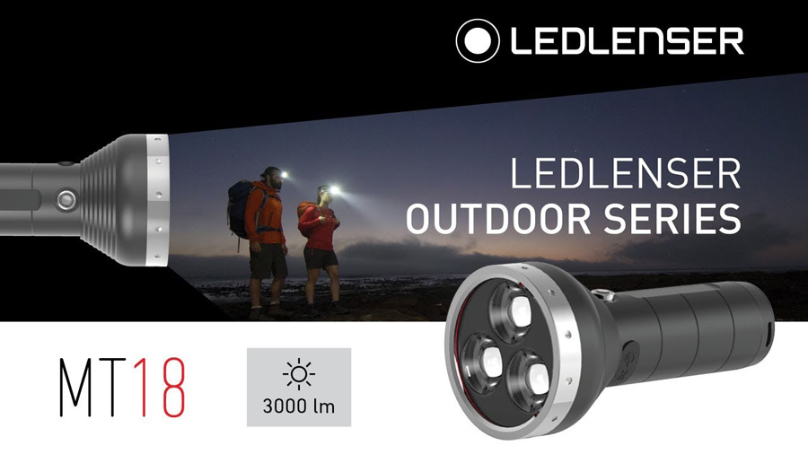 Latarka o dużej mocy LedLenser MT18