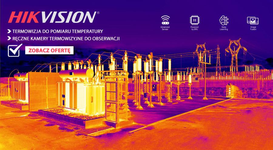 Oferta kamer termowizyjnych marki HIKVISION