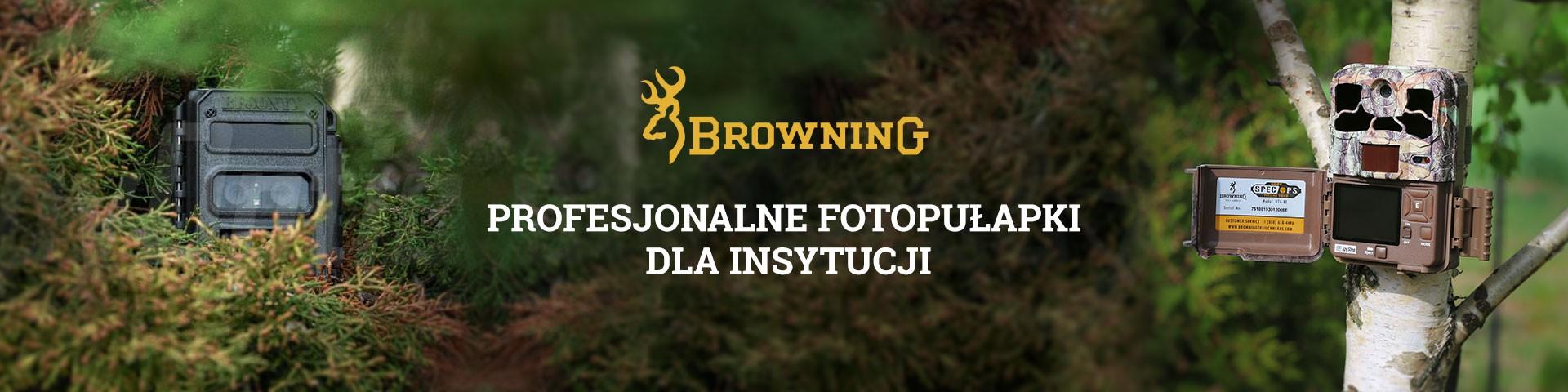 Fotopułapki Browning